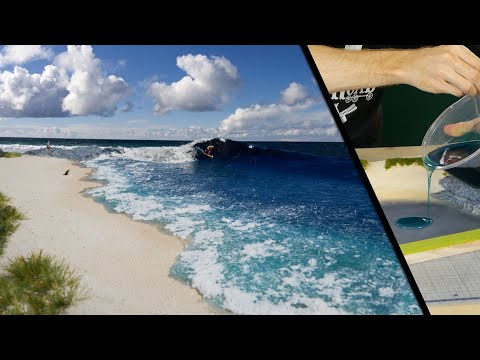 How to Build a Hyper-Realistic Surf Diorama – Realistic Scenery Vol.17