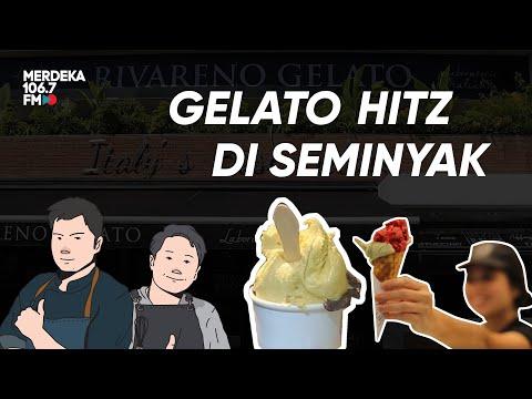 RIVARENO ICE CREAM GELATO Penggemar Ice Cream WAJIB COBAIN !!!