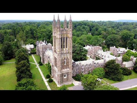 Princeton University Aerial View | Nassau Hall | Graduate College