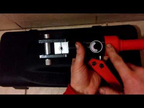 Ручной гидравлический пресс для опрессовки наконечников YATO YT22860