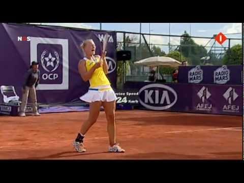 Kiki Bertens wint eerste WTA titel in Fes (Marokko)