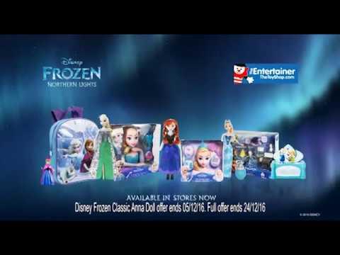 The Entertainer - Disney Frozen Northern Lights TV Advert