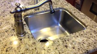 Sink replacement in a granite top
