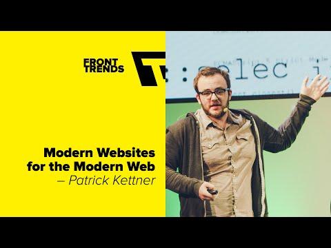 Modern Websites for the Modern Web