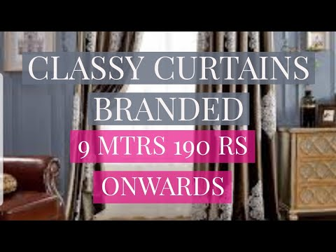 DESIGNER CURTAINS AT HUGE DISCOUNT | DELHI AND NCR
