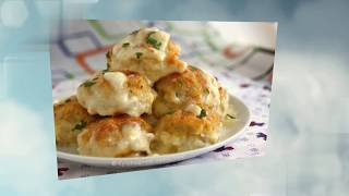 Готовим нежные куриные шарики в сырно-сливочном соусе. Вкусный рецепт куриных шариков. Приготовь!