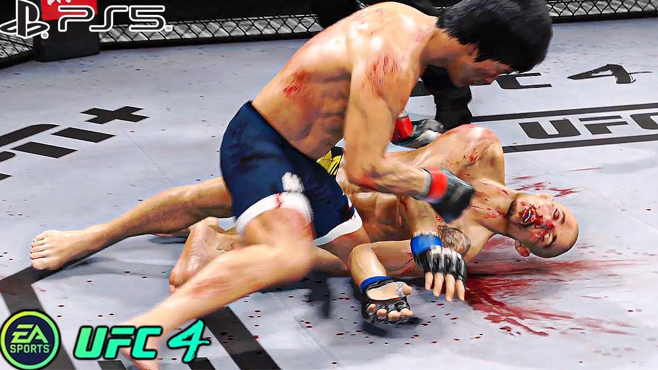UFC 4 | Bruce Lee VS José Aldo |  PS5