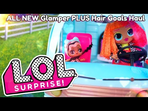 Unbox Daily: ALL NEW LOL Surprise Glamper PLUS #HairGoals and Boys Haul