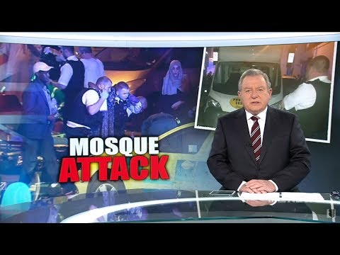 Nine + Seven News. Mosque Attack. (Reverse Jihad?)(Finsbury Park London)