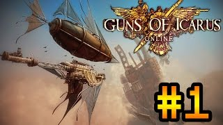 Кооперативное прохождение Guns of Icarus Online #1 [Симулятор дирижабля!](У нас есть: Minecraft, Starbound, Terraria, Don't Starve, DayZ, Rust, 7 Days to Die, Skyrim, Battlefield, The Walking Dead, Plague Inc, Spore, Banished, Payday ..., 2014-08-20T19:59:20.000Z)