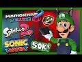 Luigi Plays - SWITCH GAMESSS! (50K Special)
