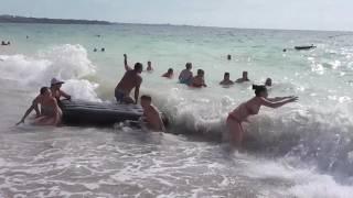 Чуваши в море Любимовка(Самое синее море...8 июля 2016 года., 2016-07-08T05:08:11.000Z)