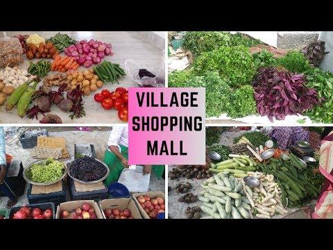 சந்தைக்கு போகலாம் வாங்க | A day in my life VLOG | Village Shopping Hall | Sunday Spl | MakeinKitchen