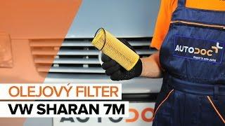 Ako vymeniť motorový olej a olejový filter na VW SHARAN 7M [NÁVOD]