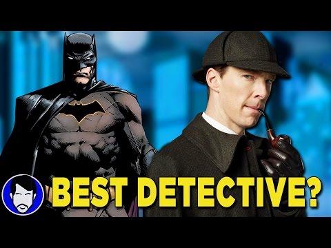 BATMAN or SHERLOCK HOLMES: Who's the better Detective? | Jason Talks Geek