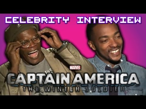 Captain America 2: The Winter Soldier with Samuel L Jackson & Anthony Mackie