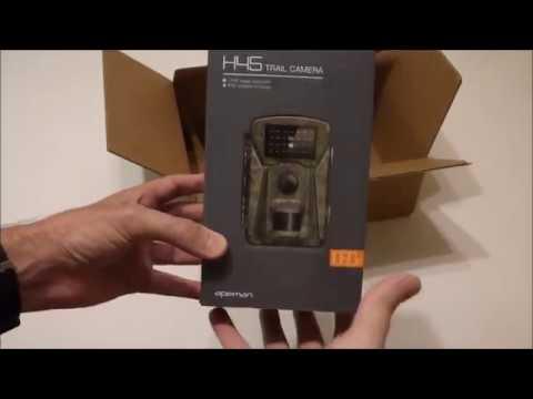 Apeman H45 (12MP/1080P) Trail Camera - Unboxing & Setup