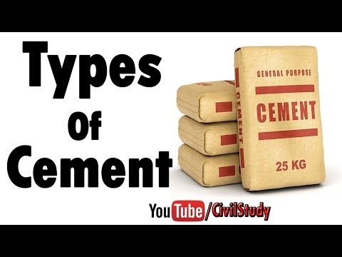 Types Of Cement Their Uses And Purposes With Examples In Urdu/Hindi