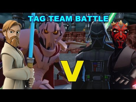 Di3.0 Obi Wan + General Grievous vs Darth Vader + Darth Maul