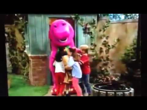 Barney comes to life (A Very Special Mouse!) - YouTube