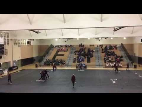 Ceres High School Winter Guard at Enochs 02-11-17 - YouTube