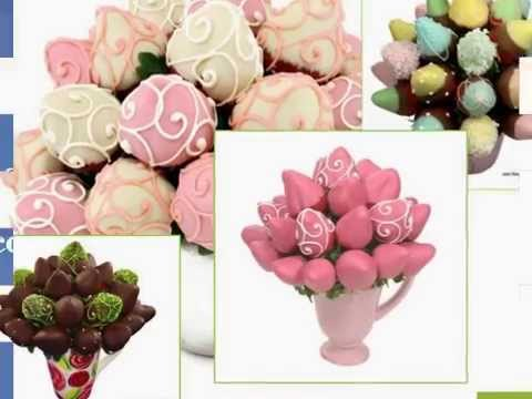 Chocolate Strawberry Arrangement