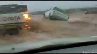 أمطار وسيول تغزو الجزائر