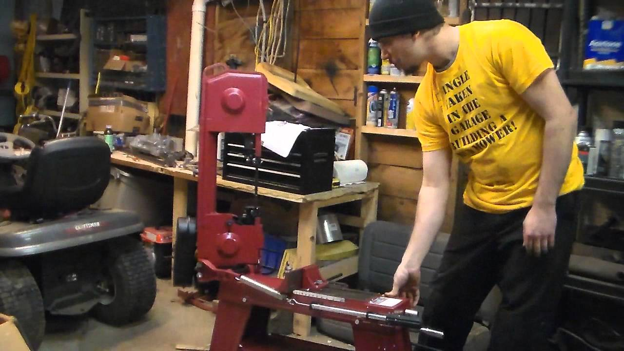 Unboxing And Review Metal Cutting Band Saw Harbor Freight Youtube