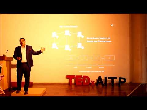 When Wall Street meets Blockchain | Pankajj Ghode | TEDxAITP