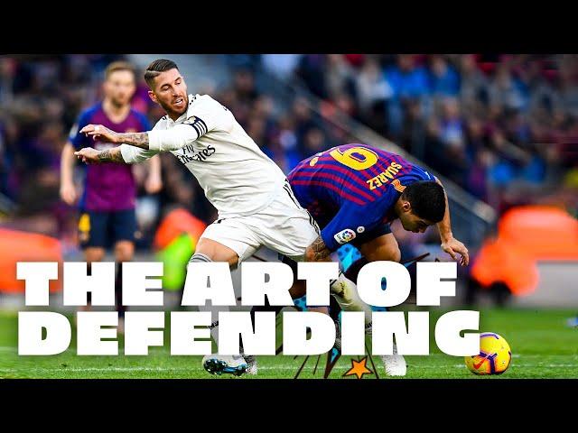 Best TACKLES AND BLOCKS | Sergio Ramos x Real Madrid
