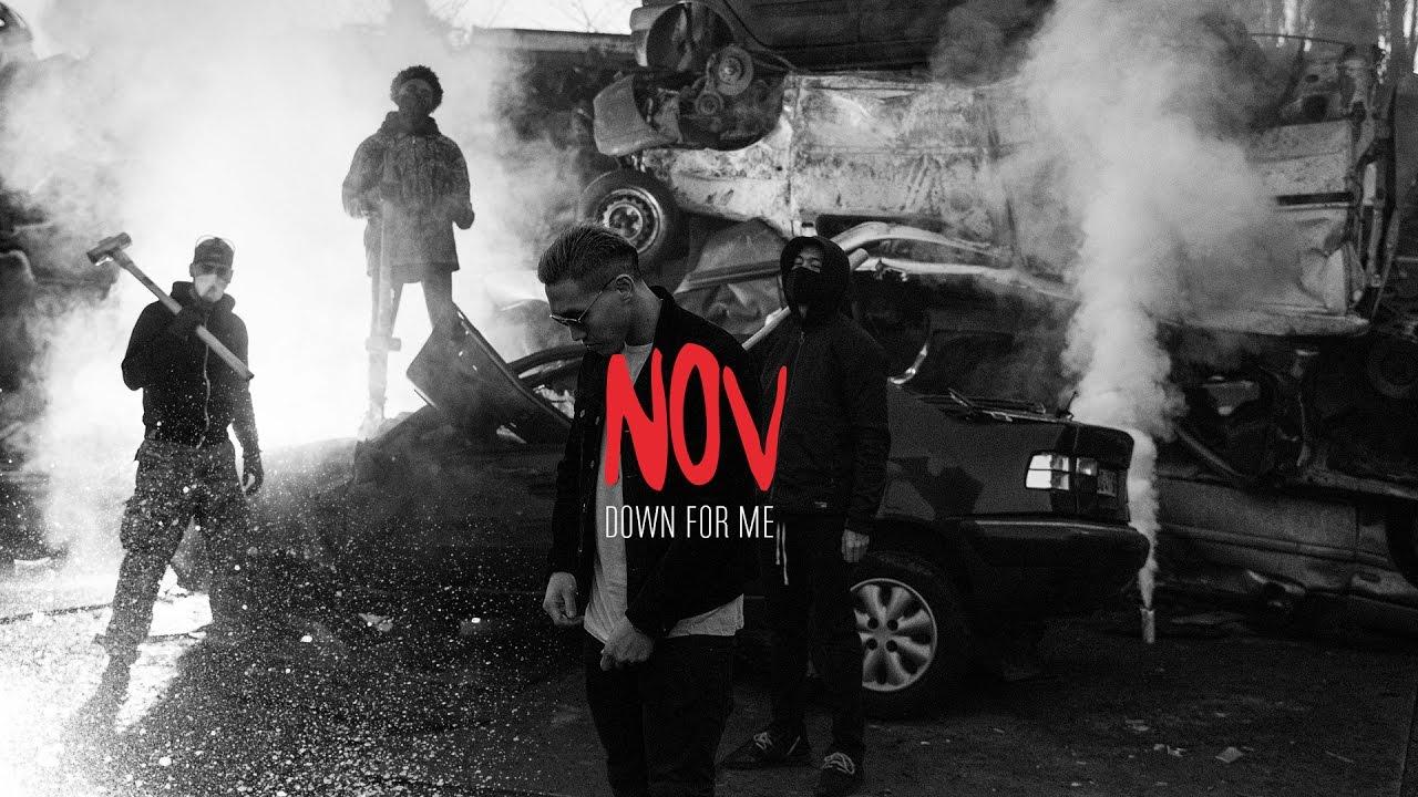 NOV - DOWN FOR ME (Clip Officiel 2017)