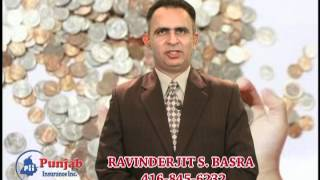 Ravinder Basra, Punjab Insurance Inc., TV ad,