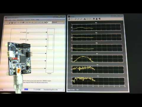 Reading Accelerometer/Magnetometer Sensor Data (iNEMO)