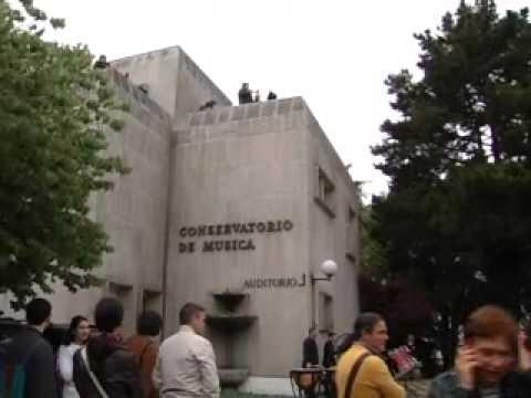 Dia da música no Conservatorio Superior de Vigo