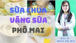 Thời Điểm Tốt Nhất Cho Trẻ Bắt Đầu Ăn Sữa Chua, Váng Sữa và Phô Mai Mẹ Nên Biết!