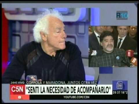 C5N - MUERTE DE DON DIEGO: COPPOLA HABLA SOBRE LA RECONCILIACION CON MARADONA