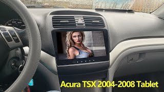 Acura tsx 2004-2008 Aftermarket Stereo Test Review