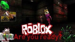 The FGN Crew Plays: ROBLOX - The Creepy Elevator