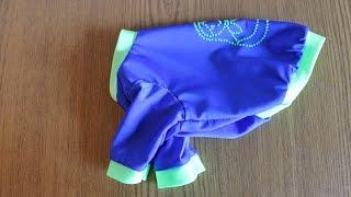 Пошив одежды для собак. Своими руками. \ DIY. How to sew a dog shirt.