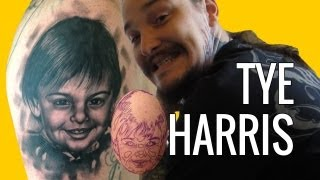 TYE HARRIS TATTOO (Day #1084) #ShareZilla