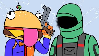 Kondor Duos & Coral Castle | Tomato & Burger (Fortnite Animation)