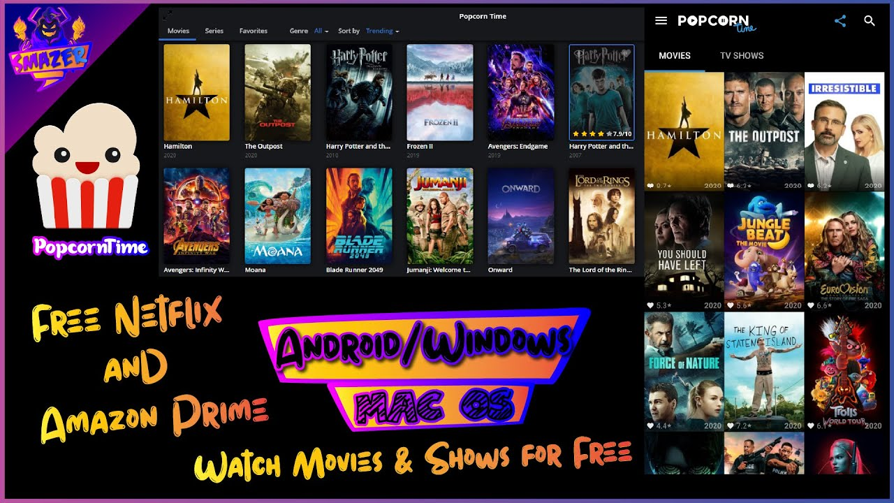 📺 Popcorn Time | Download and Watch Movies and Shows Free