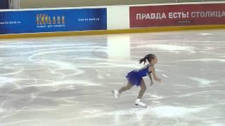 Анастасия Губанова, КП, Russian Juniors 2014