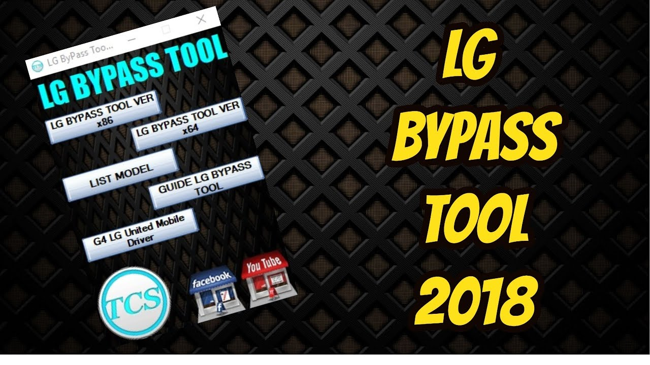 LG FRP ByPass Tool With Drivers 2018 by Technical Computer Solutions