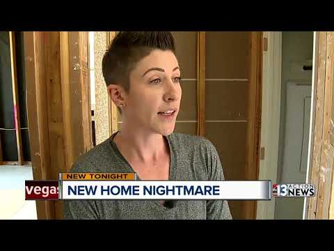 Defects behind the drywall cause nightmare for family in a new home
