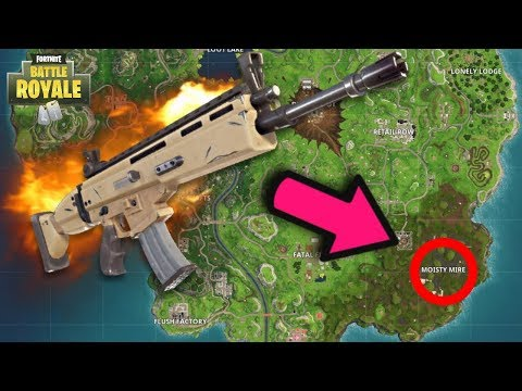 LEGENDARY SCAR LOCATION In FORTNITE! HOW TO GET GOOD LOOT EVERY TIME In FORTNITE BATTLE ROYALE!