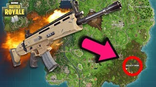 LEGENDARY SCAR LOCATION à FORTNITE! COMMENT GET GOOD LOOT CHAQUE TEMPS à FORTNITE BATTLE ROYALE!