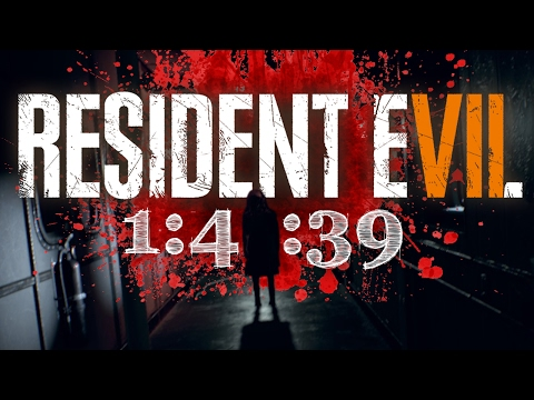 RE7 - NEW GAME SPEEDRUN (1:41:39) | Resident Evil Gameplay Walkthrough