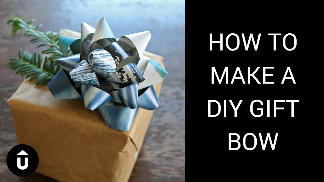 Diy Gift Bow Upcycle That