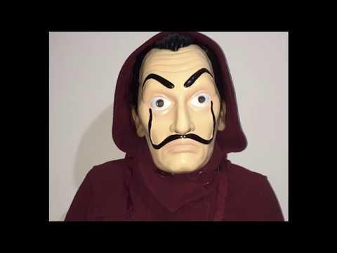 Dalí Mask - Money Heist. Limited edition